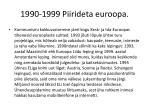 1990 1999 piirideta euroopa