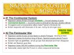 napoleon s costly mistakes