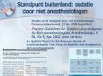 standpunt buitenland sedatie door niet anesthesiologen1