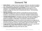 elementi 7w