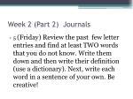 week 2 part 2 journals4