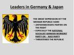leaders in germany japan1