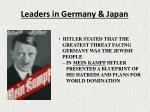 leaders in germany japan7