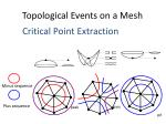 topological events on a mesh