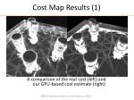 cost map results 1