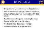 dc micro grid