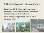 3 urbanization and urban residence