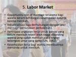 5 labor market