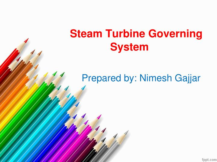 steam turbine governing system n.