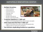 smithfield innovation center