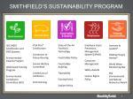 smithfield s sustainability program