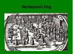 hardsyssels ting
