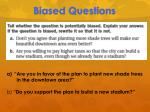 biased questions3