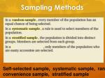 sampling methods6