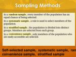 sampling methods7
