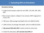 i evaluating rvs via simulation