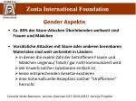 gender aspekte