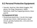 8 2 personal protective equipment
