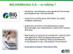 big infomonitor s a co robimy