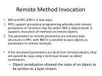 remote method invocation1