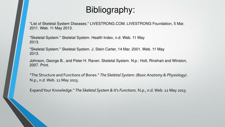 PPT - Human Body Project: Skeletal System PowerPoint Presentation ...