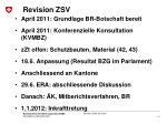 revision zsv
