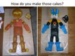 how do you make those cakes