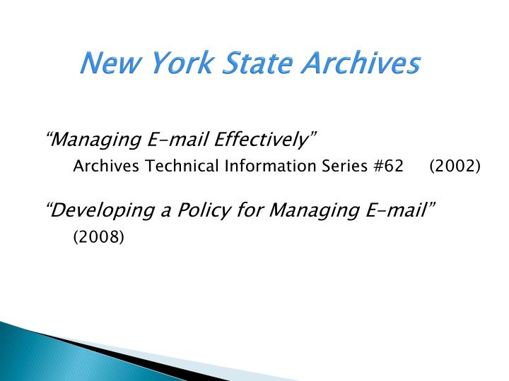 New York State Archives