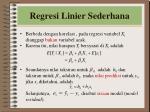regresi linier sederhana1