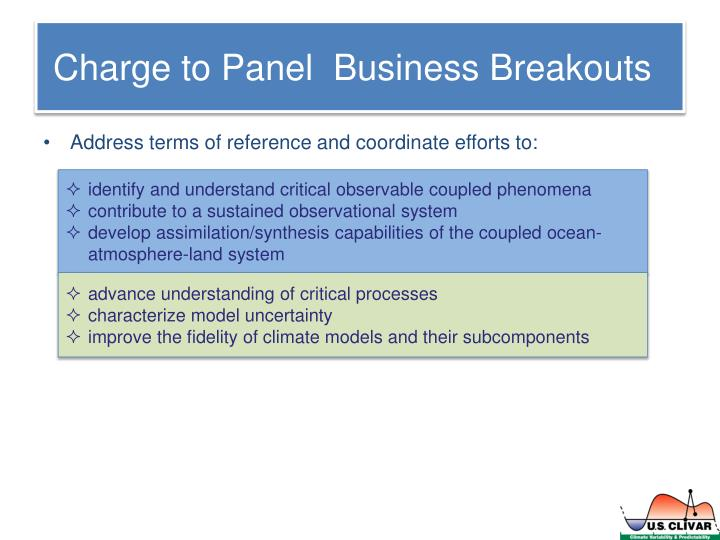Charge to panel business breakouts1