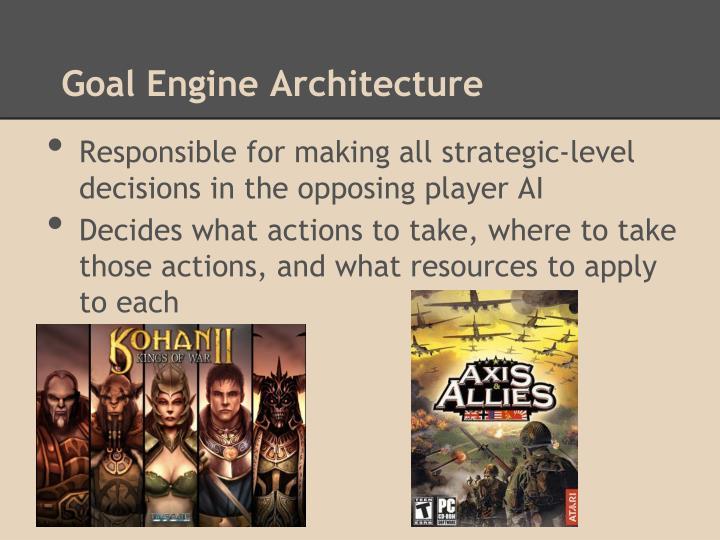 Goal Engine Architecture