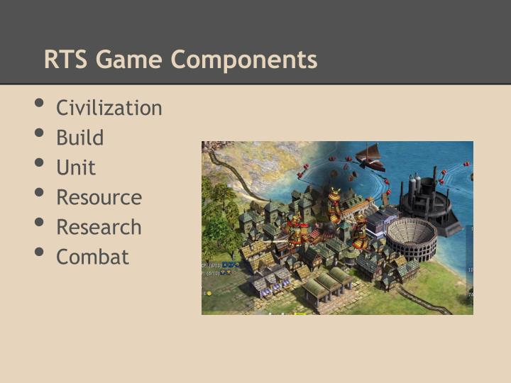 RTS Game Components