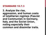 standard 10 7 3