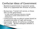 confucian ideas of government
