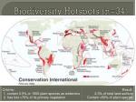 biodiversity hotspots n 34