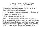 generalized implicature