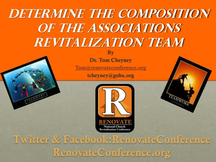 determine the composition of the associations revitalization team n.