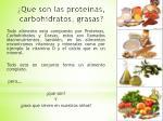 que son las proteinas carbohidratos grasas