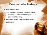 demonstrative evidence1
