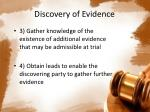 discovery of evidence2
