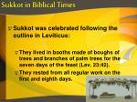 sukkot in biblical times5