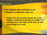 the sukkah of yahwah our protection