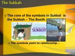 the sukkah