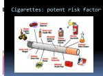 cigarettes potent risk factor
