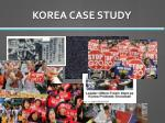 korea case study