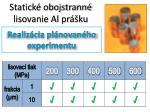 statick obojstrann lisovanie al pr ku1