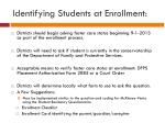 identifying students at enrollment1