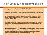 new laws 83 rd legislative session