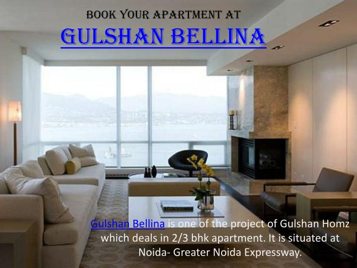 book your apartment at gulshan bellina n.