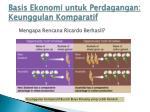 basis ekonomi untuk perdagangan keunggulan komparatif8